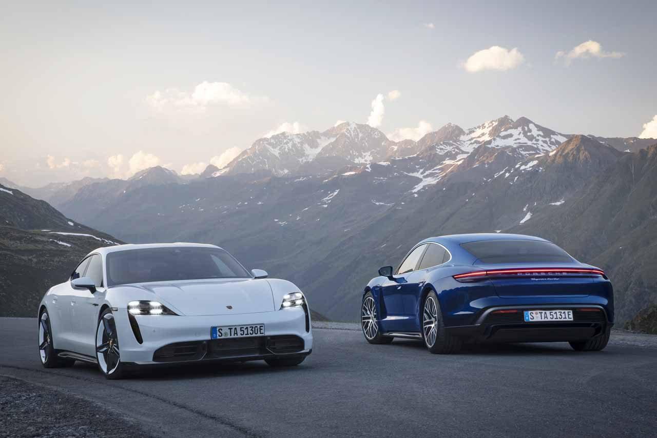 ポルシェ、最高出力761馬力、ニュル北最速EVサルーン『ポルシェ・タイカン』が世界初公開最高出力761馬力を誇る同社初のEVスポーツカー『タイカン』を世界初公開