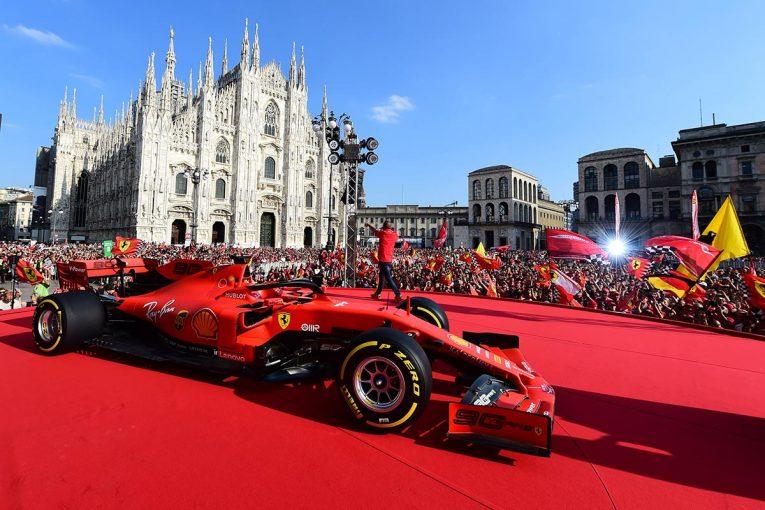 F1 | 【ギャラリー】F1イタリアGP初日&フェラーリ90周年記念イベント