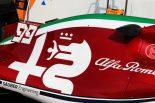 2019年F1第14戦イタリアGP アルファロメオC38のイタリアテーマカラー