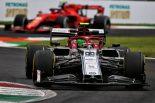 2019年F1第14戦イタリアGP アントニオ・ジョビナッツィ(アルファロメオ)