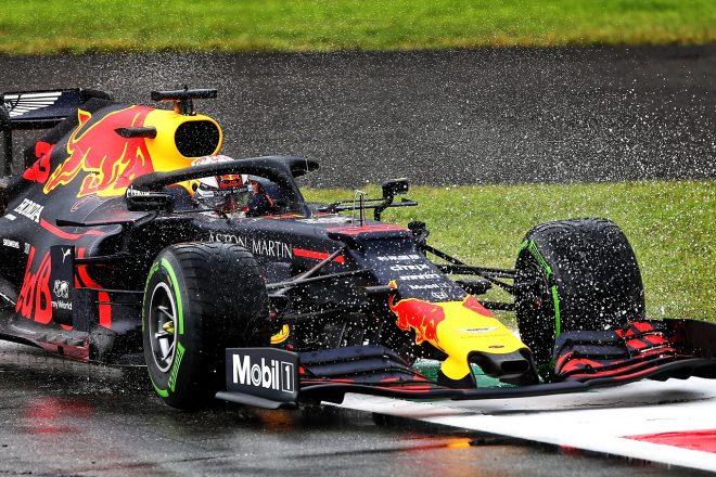 2019年F1第14戦イタリアGP金曜 マックス・フェルスタッペンのレッドブルRB15・ホンダ