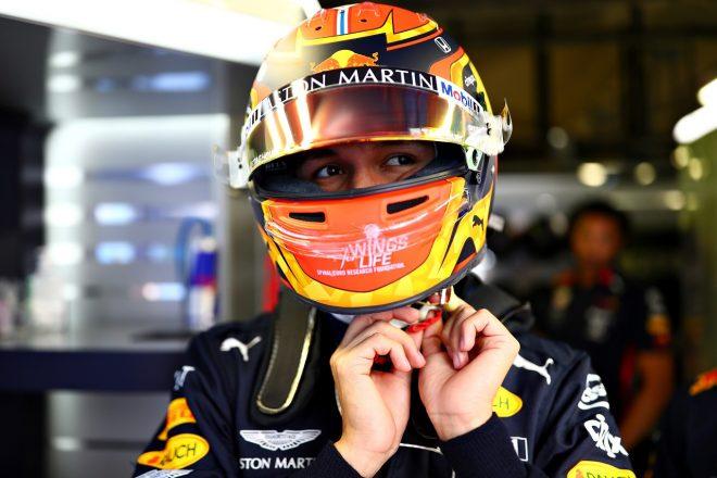 2019年F1第14戦イタリアGP金曜 アレクサンダー・アルボン(レッドブル・ホンダF1)