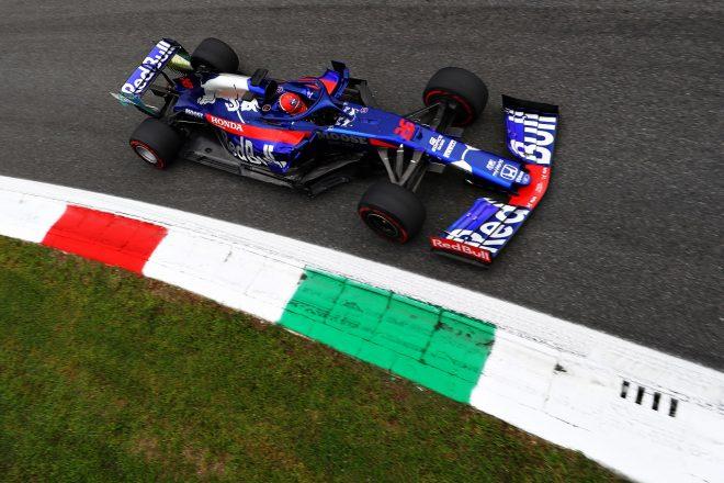2019年F1第14戦イタリアGP金曜 ダニール・クビアト(トロロッソ・ホンダF1)