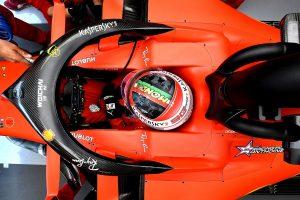 F1 | フェラーリF1のルクレール、0.068秒差で初日トップ「本当はメルセデスの方が速いかも。予選に向けやるべきことは多い」