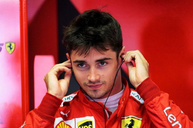 2019年F1第14戦イタリアGP金曜 シャルル・ルクレール(フェラーリF1)