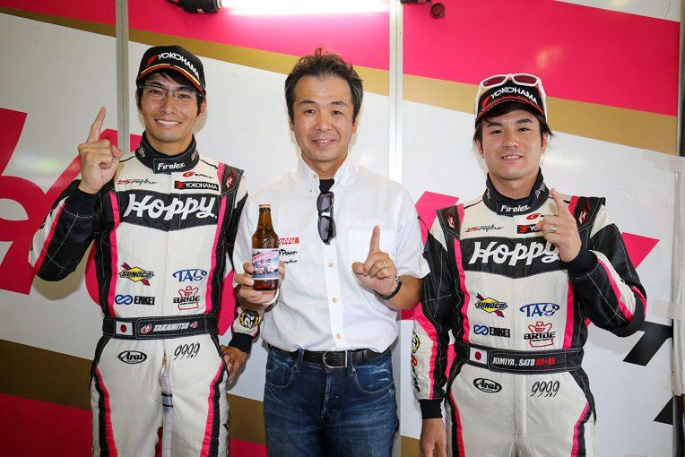 スーパーGT | HOPPY 86松井孝允「チームがABSのトラブルを全力で直してくれたから、この結果を手にできた」/GT300ポールポジション会見
