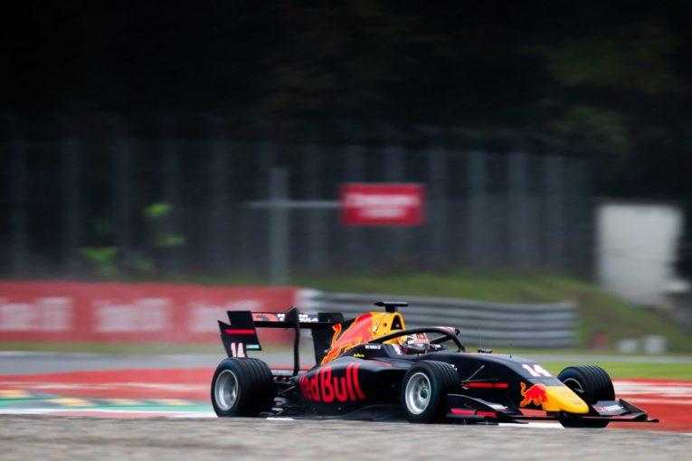 海外レース他 | 宙を舞うクラッシュの末レース終了。角田が3位入賞【順位結果】FIA-F3第7戦イタリア レース1