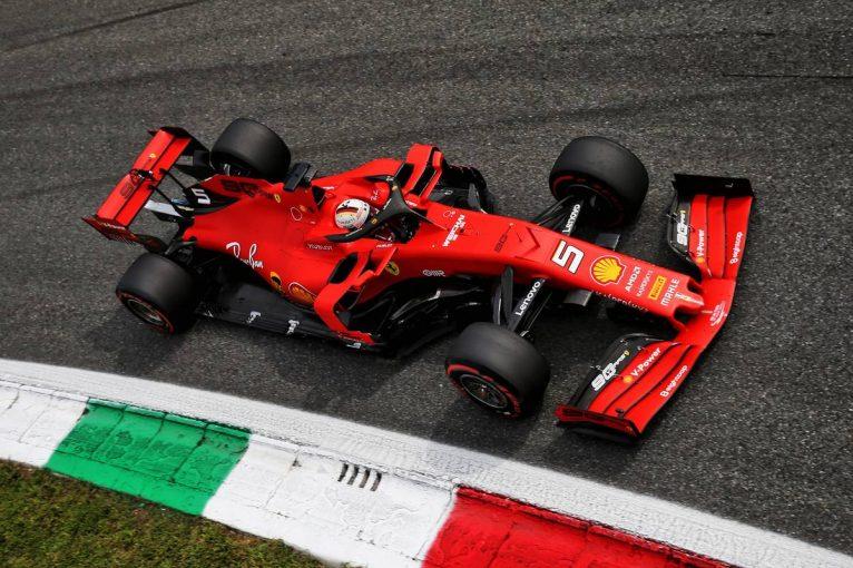 F1 | ベッテルがトップタイム、フェルスタッペンは2番手に【タイム結果】F1第14戦イタリアGPフリー走行3回目