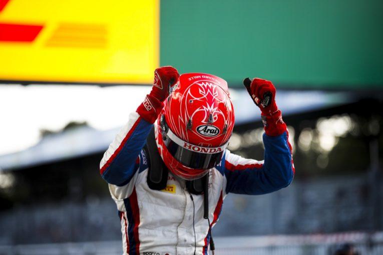 海外レース他 | 【速報】松下信治2勝目!モンツァに日本人の雄叫びふたたび/FIA-F2第10戦イタリア レース1