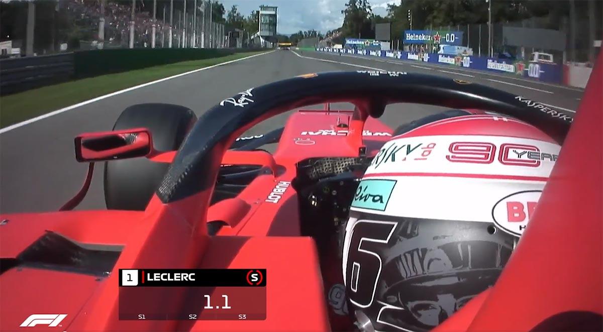 【動画】シャルル・ルクレールのポールポジションラップ/F1第14戦イタリアGP予選