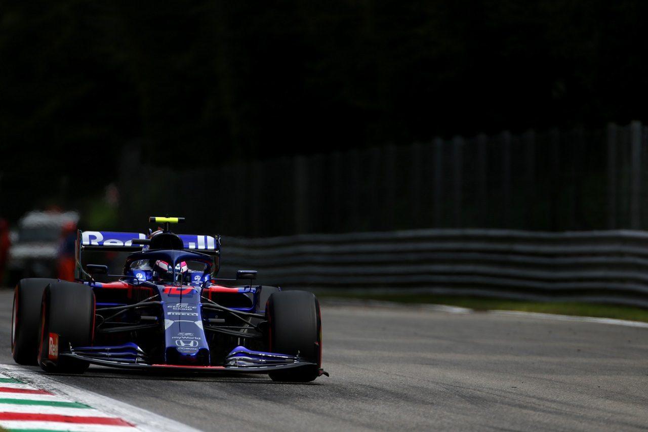 2019年F1第14戦イタリアGP土曜 ピエール・ガスリー(トロロッソ・ホンダ)