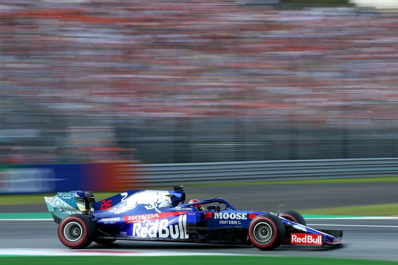 2019年F1第14戦イタリアGP土曜 ダニール・クビアトのトロロッソSTR14・ホンダ