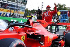 F1 | ポールのルクレール「混乱のなか計画が狂い、セブのサポートができず。1-2を目指していたのに」:フェラーリ F1イタリアGP