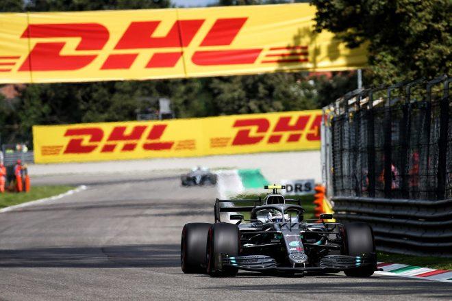 2019年F1第14戦イタリアGP土曜 バルテリ・ボッタス(メルセデス)