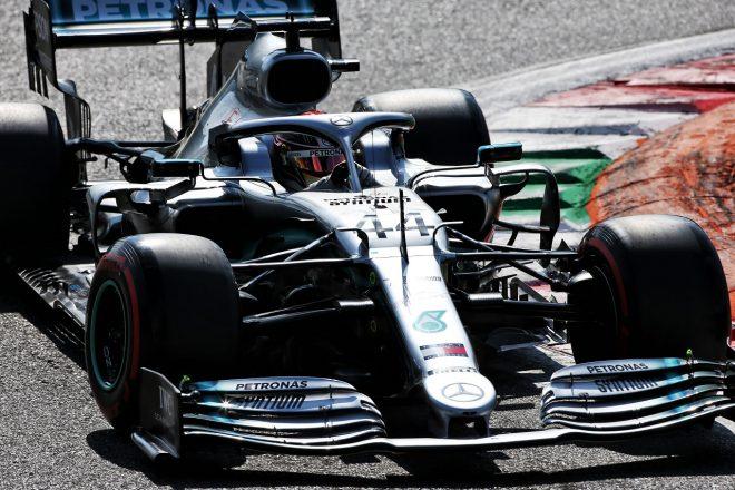 2019年F1第14戦イタリアGP土曜 ルイス・ハミルトン(メルセデス)