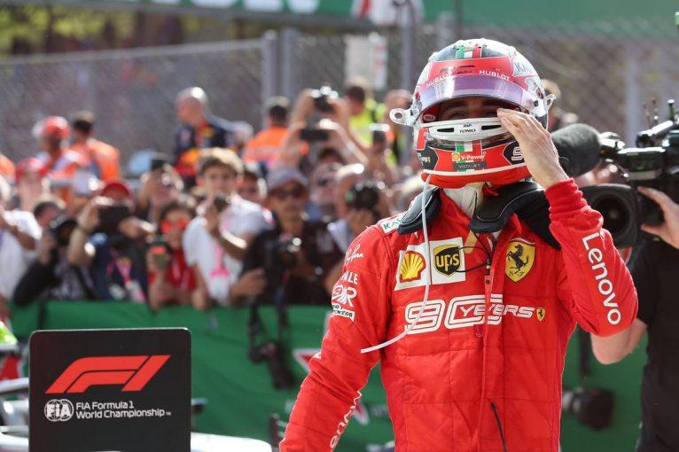 F1 | ルクレール、メルセデスの追撃を振り切り堂々の2連勝。フェラーリの地元で9年ぶりの勝利をもたらす/F1イタリアGP決勝