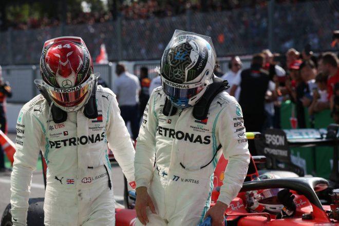 2019年F1第14戦イタリアGP決勝 追撃叶わず、2位はバルテリ・ボッタス、3位はルイス・ハミルトン
