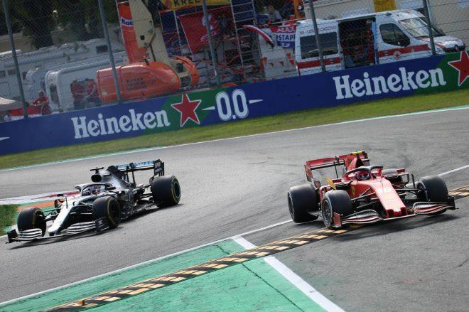 2019年F1第14戦イタリアGP ランオフエリアをカットするもお咎めなし