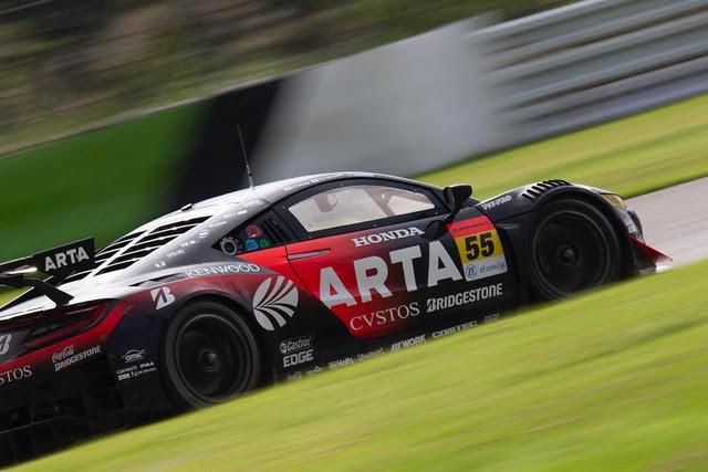ARTA NSX GT3 2019スーパーGT第6戦オートポリス 決勝レポート
