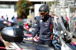 2019年F1第14戦イタリアGP マックス・フェルスタッペンがバイクで通勤(レッドブル・ホンダ)