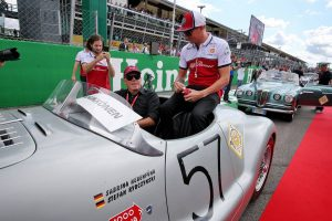 F1 | ライコネン「僕自身の予選ミスと、決勝タイヤのペナルティで最低の週末だった」:アルファロメオ F1イタリアGP日曜
