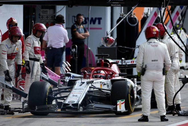 2019年F1第14戦イタリアGP キミ・ライコネン(アルファロメオ)