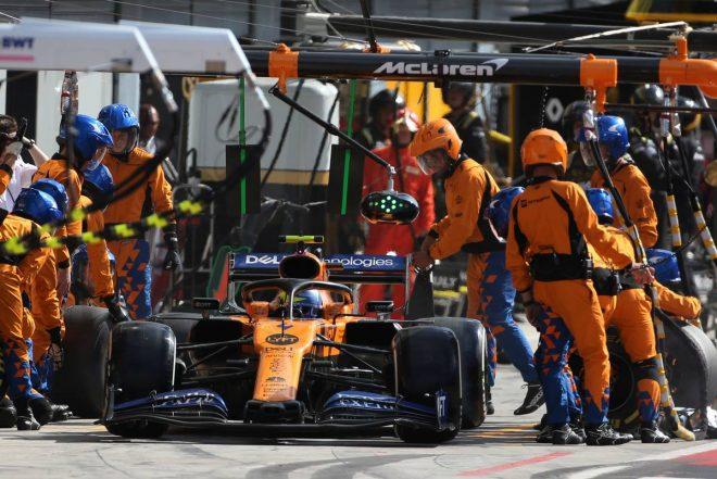 2019年F1第14戦イタリアGP ランド・ノリス(マクラーレン)