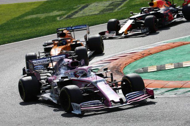 2019年F1第14戦イタリアGP セルジオ・ペレス(レーシングポイント)
