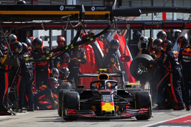 2019年F1第14戦イタリアGP日曜 アレクサンダー・アルボン(レッドブル・ホンダ)