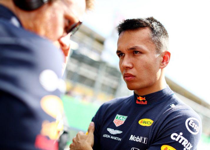 F1 | アルボン、ペナルティを受け6位「オーバーテイクが難しく、時折リスキーな戦い方をした」:レッドブル・ホンダ F1イタリアGP
