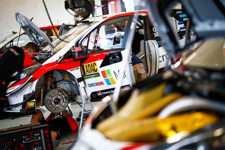 ラリー/WRC | WRC:トヨタ、第10戦ドイツで起きたブレーキトラブルの原因特定。対策は「古めかしい手法」で