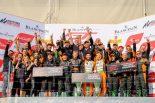 ProクラスとPro/Amクラスのドライバーズタイトル、Pro/Amのチームタイトルを獲得したオレンジ1・FFFレーシング