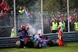 F1 | トロロッソ・ホンダF1のクビアト、オイル漏れでリタイア「レッドブルと戦う力があり、入賞は間違いなかったから残念」