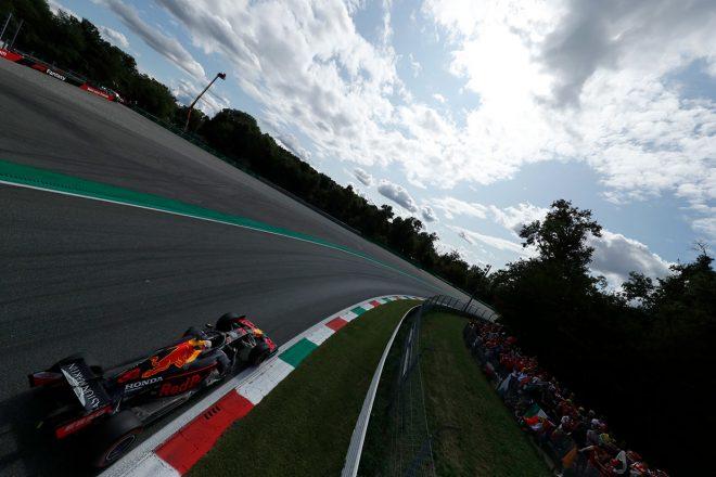 2019年F1第14戦イタリアGP マックス・フェルスタッペン(レッドブル・ホンダ)は後方から追い上げ8位入賞