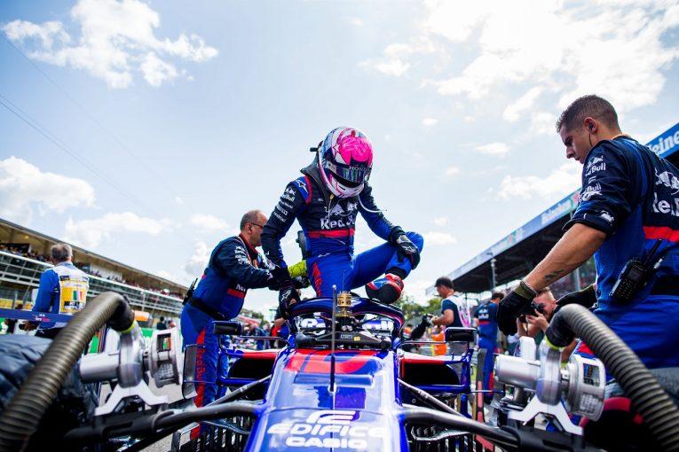 F1 | ガスリー、17番グリッドから11位「速さがあったのに、ストロールとのニアミスでポイントを逃した」:トロロッソ・ホンダF1