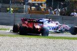 F1 | フェラーリF1のベッテル、危険なコース復帰で出場停止まであと3点「自分のミスでスピン。ストロールは見えなかった」