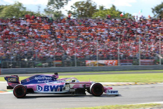 2019年F1第14戦イタリアGP日曜 セルジオ・ペレス(レーシングポイント)