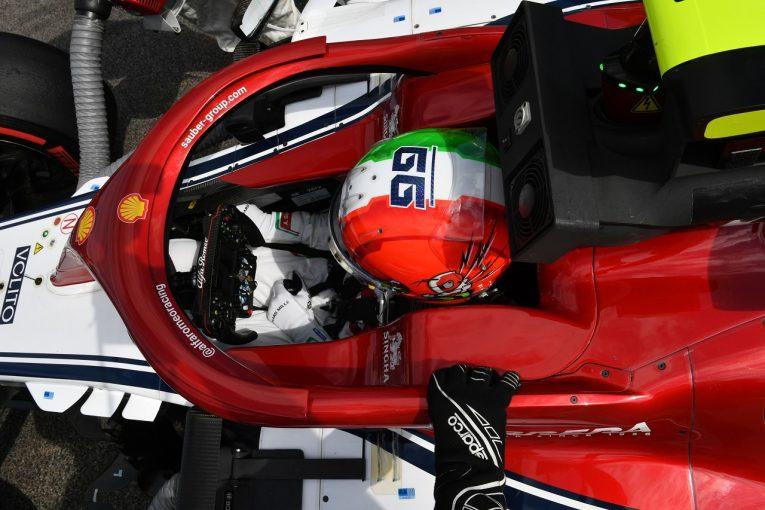 F1   ジョビナッツィ、ホームグランプリで9位入賞「大満足のレース。この成績をティフォシに捧げる」:F1イタリアGP
