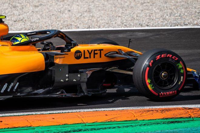 2019年F1第14戦イタリアGP ランド・ノリス(マクラーレンMCL34)