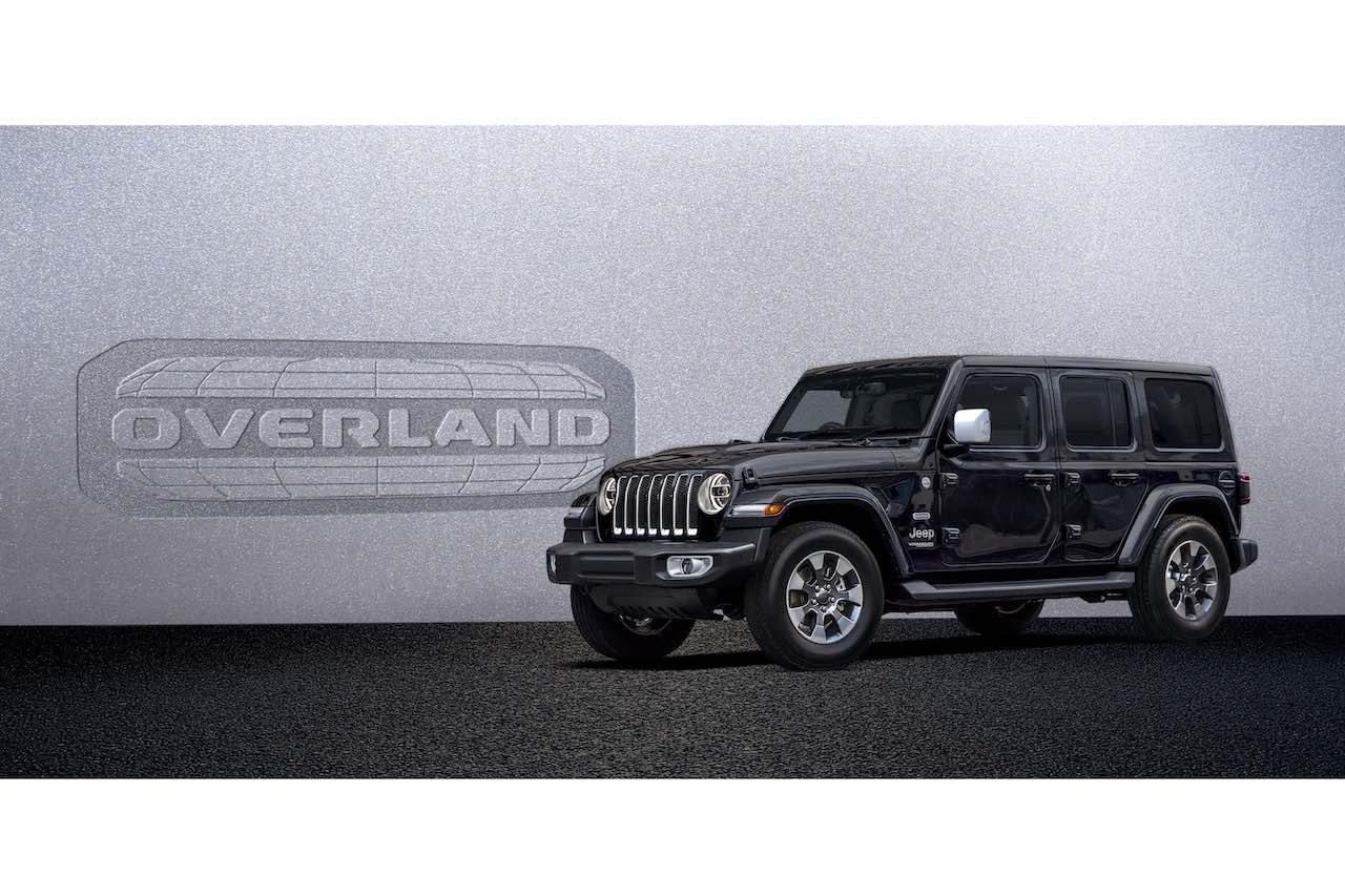 """『ジープ・ラングラー・アンリミテッド』に、上質な内外装の限定車""""Overland""""が登場"""