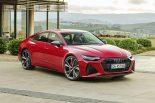 クルマ | アウディ、ワイドボディにV8ツインターボ搭載グランドツアラー『RS 7 Sportback』の新型を発表