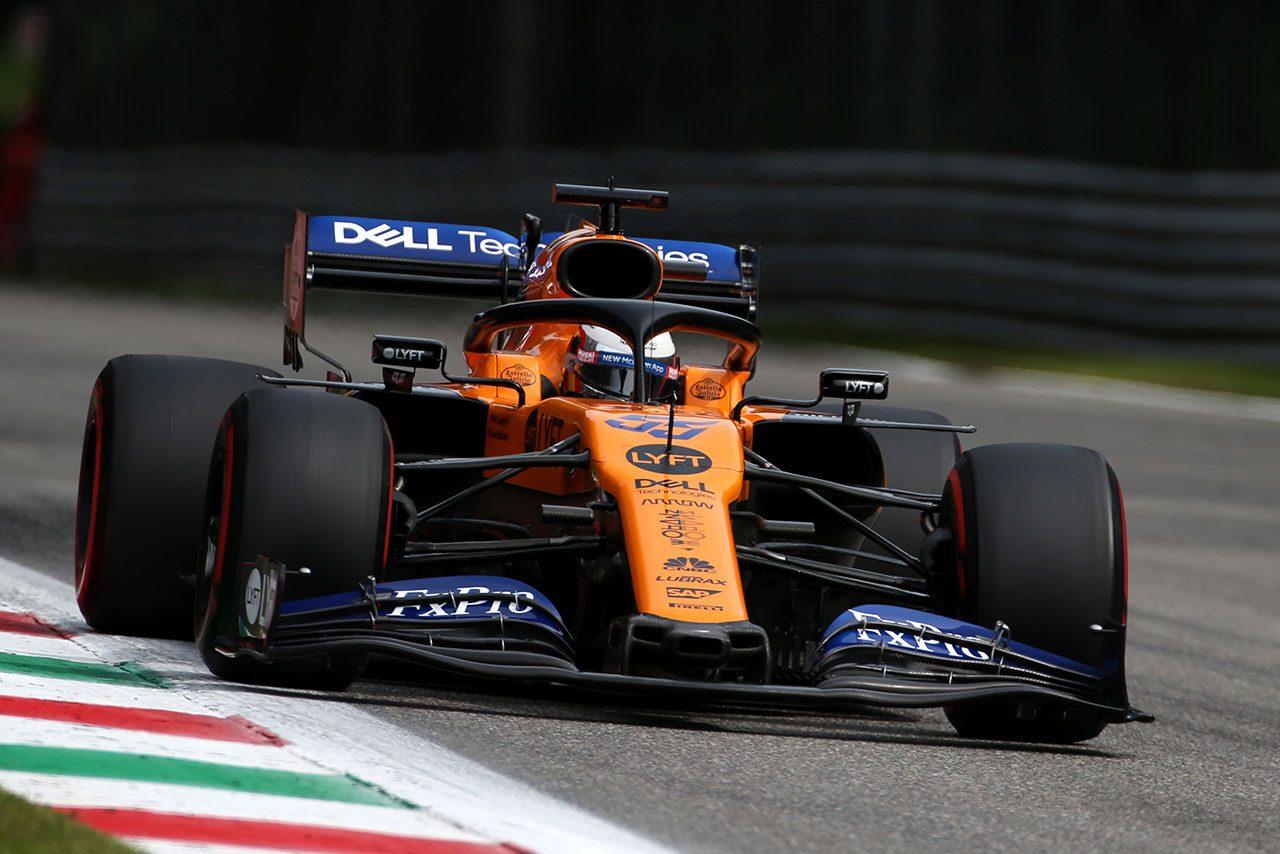 2019年F1第14戦イタリアGP カルロス・サインツJr.(マクラーレン)