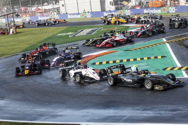 FIA-F3第7戦イタリア レース2