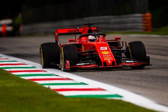 2019年F1イタリアGPでのベッテル