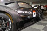 2020年モデルのホンダNSX-GT。右サイドにエキゾースト出口が。