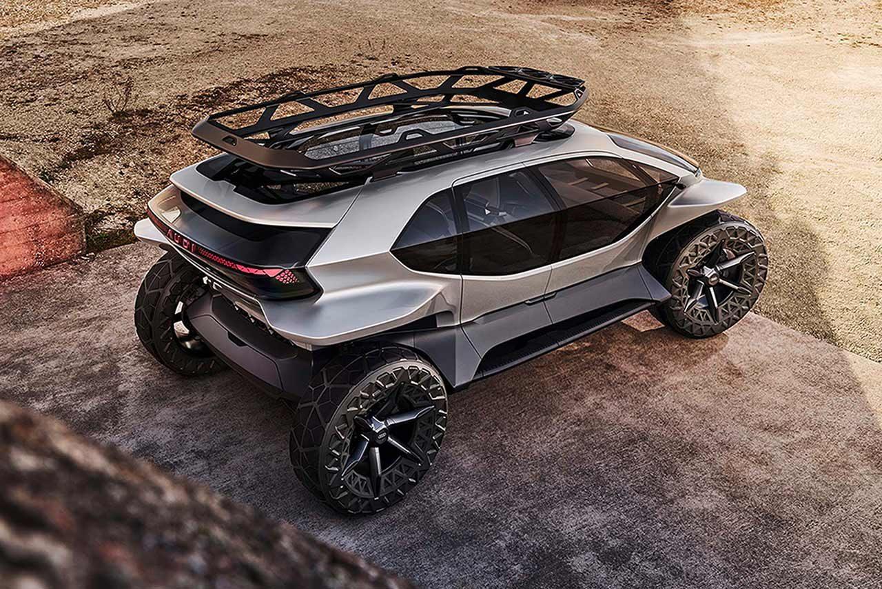 未来のオフロードモデル『Audi AI:TRAIL quattro』フランクフルトショーに登場