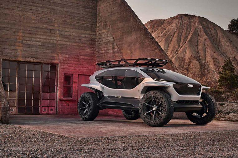 クルマ | 未来のオフロードモデル『Audi AI:TRAIL quattro』フランクフルトショーに登場