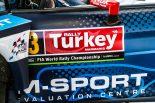 ラリー・トルコに持ち込まれたMスポーツ・フォードのフィエスタWRC