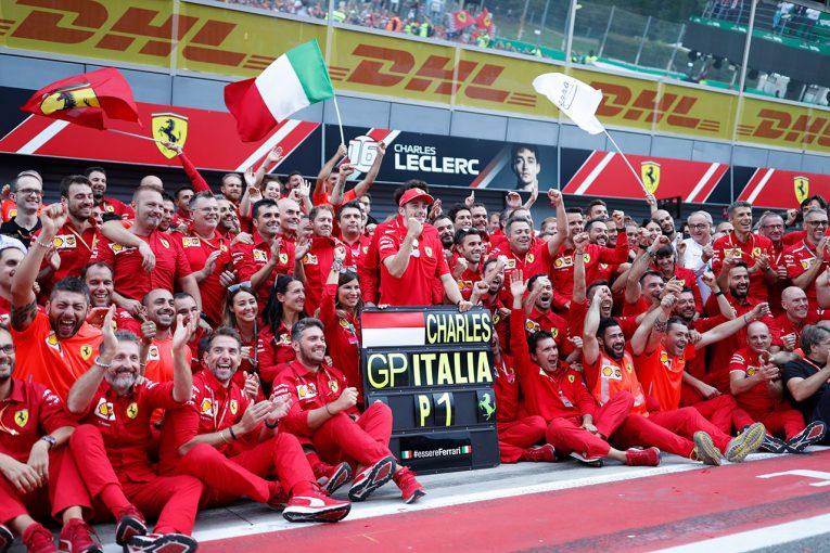 """F1   フェラーリの強みを活かし、孤軍奮闘の""""1対2バトル""""を制したルクレール【今宮純のベルギー&イタリアGP採点】"""