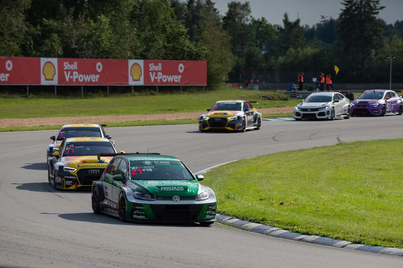STCC第6戦:PWRレーシングのダールグレンが初戦完勝も、レース2は伏兵が勝利